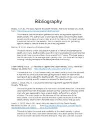 bibliography fixed capital punishment violence