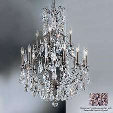 bronze crystal chandelier classic lighting versailles 13 light antique bronze