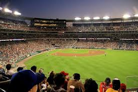 Nationals Baseball Seating Chart Washington Nationals Outfield Reserved Seats