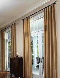 living room curtains kirsch wood rods kitchen curtain rod ideas