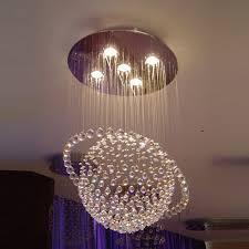 nice ceiling drop lights sphere style crystal chandelier glass globe chandeliers modern