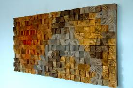 rustic wooden wall art