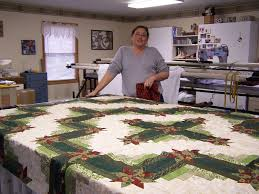 Glady's Gab on Quilts and Quotes: Fall Quilting with Sweet Peas ... & Michelle finished the top for her sister's quilt . . . Colorado Log Cabin -  Stunning! Adamdwight.com