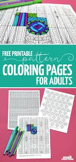 Free collection of beautiful patterns for all vector formats. Free Printable Pattern Coloring Pages For Adults Moms And Crafters