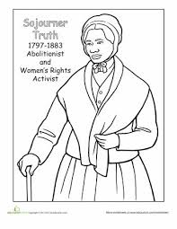 Small Picture 24 best Womens History Month Coloring Pages images on Pinterest