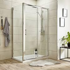 turin 8mm rectangular sliding door shower enclosure easy fit