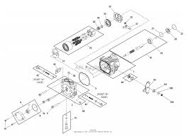 Hydraulic pump service parts bdp pg series