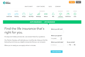 How To Shop For And Save Money On Your Life Insurance On Mint Classy Compare Term Life Insurance Quotes