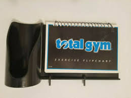 Details About Total Gym Power Platinum Exercise Flip Chart