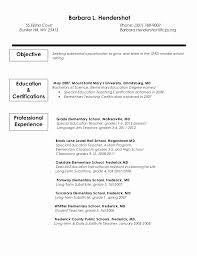 Long Term Substitute Teacher Resume Sample Best Teaching Resume