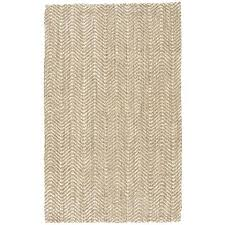 jute rug natural and white 8x10 beige