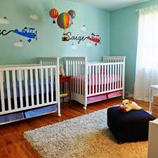 Superior Twin Nursery Pictures; Twin Nursery Layout ...