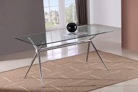 marvelous glass dining room tables rectangular rectangle glass dining table wildwoodsta