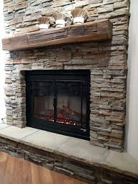 Fireplace Stone Veneer Surrounds  The Modification For The Stacked Stone Veneer Fireplace