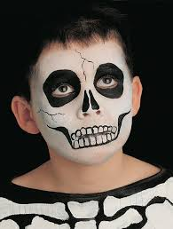 skeleton face paint for skeleton face paint scary faces face and scary