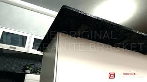 brackets support bracket underside view by the original granite wood floating home countertop depot heavy duty