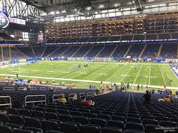 Ford Field Section 130 Detroit Lions Rateyourseats Com