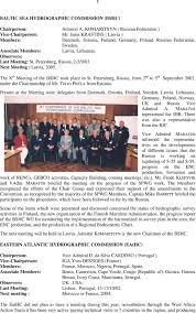 International Hydrographic Organization Annual Report 2003