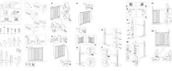 Ikea Instruction Manuals Ikea Accessories Patrull Safety Gate Pdf Assembly Instruction Free