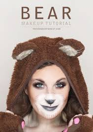 i couldn t decide between the fox costume or a bear costume so i decided to get both and try out diffe makeup looks i love this look because it s easy