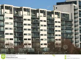 Modern Apartment Building Stock Photo Image Of Modern 1934562