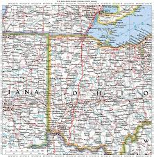 illinois, ohio, indiana, michigan, wisconsin historic roads, paths Monroe County Ohio Road Map near utopia, ohio road map of monroe county ohio