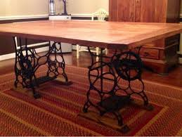 Old Sewing Machine Base Tables