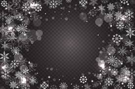 Snowflake Overlay Background Vector Free Download