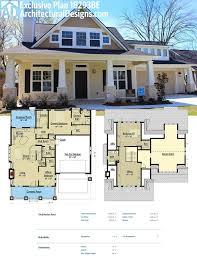 best luxury bungalow house plans with bonus room above garage amazing design