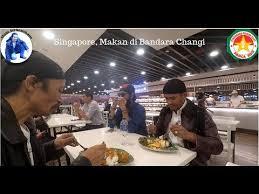 makan di bandara changi
