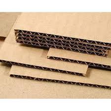 brown corrugated paper sheet