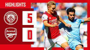 HIGHLIGHTS   Manchester City v Arsenal ...
