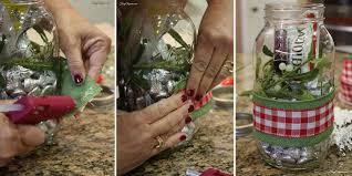 Decorating Canning Jars Gifts Mason Jar Gift Christmas Kiss Kit Hometalk 26