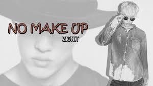 pics of no makeup zion t s hangul