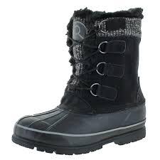 revelstoke men s selkirk rubber duck toe winter snow boots 0