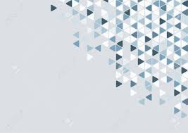 Abstract Blue Triangle Pattern ...