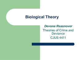 Biological Theory Biological Theory