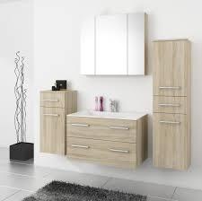 Top Badmöbel Badezimmer Regina 5tlg Set In Sonoma Eiche Mit 80 Cm Waschtisch