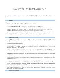 sap mm resume 4 years experience manual testing sample resumes testing  fresher resume manual sap mm