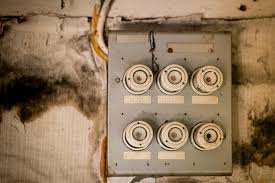 old fuse box in an abandoned house stock photo image of power old fuse box in house at Old Fuse Box In House