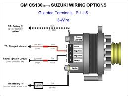 wiring diagram for 3 wire gm alternator the wiring diagram gm cs130 cs144 alternator wiring plis 3 wire gm alternator
