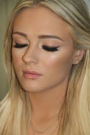 makeup for blonde hair and brown eyes
