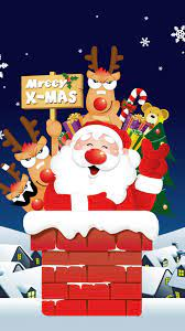 Christmas Wallpaper Santa Iphone