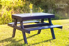 ... Recycled Pallet Picnic Table with Benches ...