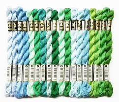 Dmc Perle Cotton Skeins Perle Cotton Size 5 Dmc Threads Perle Cotton Yarn Needlework Yarns Needlepoint Threads Size 5 Perle Cotton