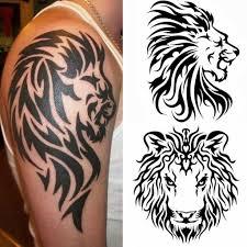 Tatuaggi Tribali Il Leone Tattoos Tatuaggi Tribali Tatuaggi E