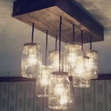 mason jar lighting fixtures. mason jar chandelier from rubbishlove on opensky lighting fixtures j