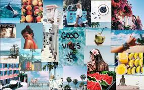 Collage Aesthetic Summer Laptop ...