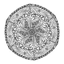 Small Picture Printable Mandala Coloring Pages For Adults Coloring Pages Online