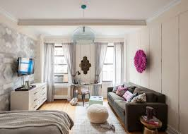 ... How To Decorate A Small Apartment Living Room Stunning Studio Design  Ideas ...